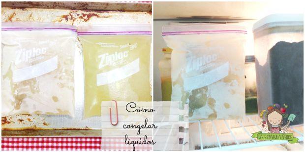 De esta forma, tendrás más espacio en la refrigeradora y sabrás qué es lo que tienes.